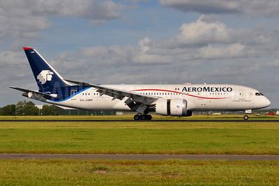 AeroMexico Boeing 787-8 Dreamliner XA-AMR (msn 36844) AMS (Tony Storck). Image: 936390.