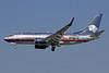 AeroMexico Boeing 737-752 WL XA-AAM (msn 33783) (Ford Harley-Davidson Lobo) LAX (Michael B. Ing). Image: 909706.