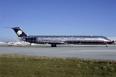 AeroMexico McDonnell Douglas DC-9-82 (MD-82) N501AM (msn 49188) MIA (Bruce Drum). Image: 104554.