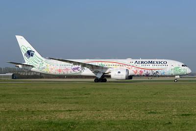 AeroMexico Boeing 787-9 Dreamliner  XA-ADL (msn 43859) (Quetzalcoatl) AMS (Ton Jochems). Image: 937446.