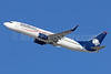 AeroMexico Boeing 737-8FZ WL XA-AMW (msn 34954) LAX (Michael B. Ing). Image: 936387.