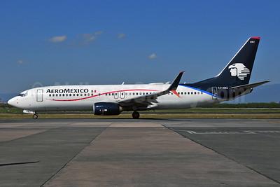 AeroMexico Boeing 737-852 SSWL XA-AMJ (msn 36701) MTY (Ken Petersen). Image: 937335.