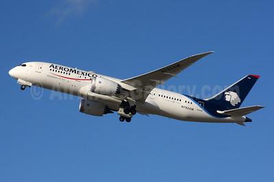 AeroMexico Boeing 787-8 Dreamliner N782AM (msn 37165) LHR (SPA). Image: 935226.