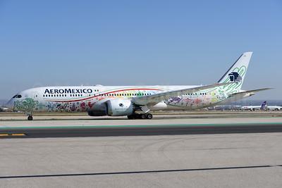 AeroMexico Boeing 787-9 Dreamliner  XA-ADL (msn 43859) (Quetzalcoatl) MAD (Ton Jochems). Image: 936991.