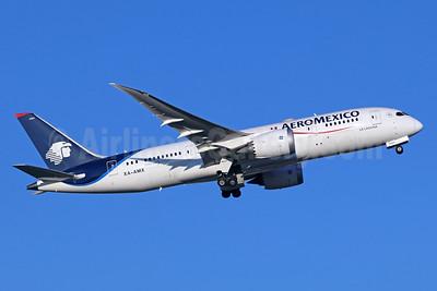 AeroMexico Boeing 787-8 Dreamliner XA-AMX (msn 36843) NRT (Michael B. Ing). Image: 936391.