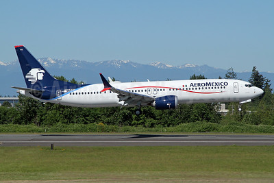 AeroMexico Boeing 737-9 MAX 9 N115AM (msn 43371) PAE (Nick Dean). Image: 954019.