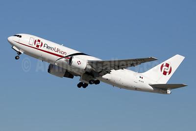 AeroUnion (Mexico) Boeing 767-241 ER (F) XA-EFR (msn 23804) LAX (Ron Monroe). Image: 952326.