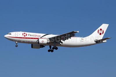 AeroUnion (Mexico) Airbus A300B4-605R (F) XA-GGL (msn 626) LAX (Michael B. Ing). Image: 952327.