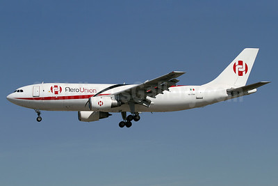 AeroUnion (Mexico) Airbus A300B4-203 (F) XA-FPP (msn 227) LAX (James Helbock). Image: 920020.