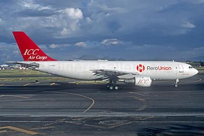 AeroUnion (Mexico) - ICC Air Cargo Airbus A300B4-203 (F) C-FICB (XA-TUE) (msn 078) MEX (Christian Volpati Collection). Image: 940144.