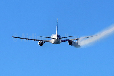 AeroUnion (Mexico) Boeing 767-241 ER (F) XA-LRC (msn 23802) LAX (Michael B. Ing). Image: 940185.