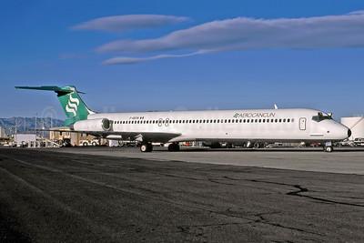 Aerocancun McDonnell Douglas DC-9-83 (MD-83) F-ODTN (VR-BMJ) (msn 49791) LAS (Larry Potoski - Rob Rindt Collection). Image: 949326.