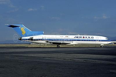 Aero Exo Boeing 727-225 XA-SXC (msn 20619) (AVIACSA colors) MEX (Christian Volpati Collection). Image: 950622.