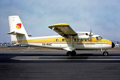 Aeronaves Alimentadoras de Havilland Canada DHC-6-100 Twin Otter XA-NAC (msn 115) MEX (Christian Volpati). Image: 948631.