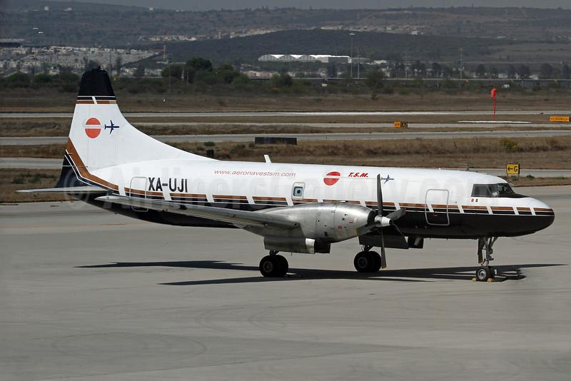 TSM (Aeronaves TSM) Convair 600 (F) XA-UJI (msn 88) QET (Duncan Kirk). Image: 932180.
