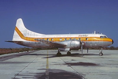 Aerotur (Aerotransporte Turisticos) Convair T-29B (240) XA-JOU (msn 292) BAQ (Christian Volpati Collection). Image: 928666.
