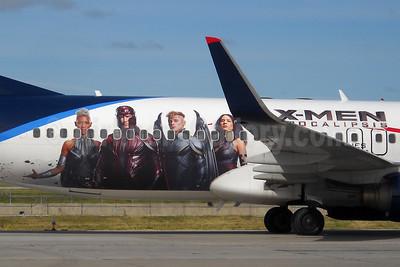 "AeroMexico's 2016 ""X-Men Apocalipsis"" promotional livery"