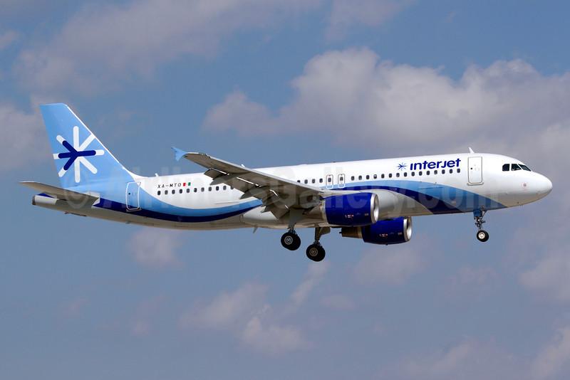 Interjet Airbus A320-214 XA-MTO (msn 4924) MIA (Luimer Cordero). Image: 907909.