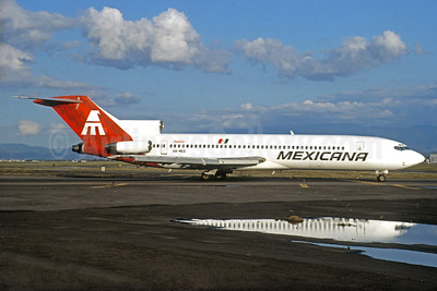 Mexicana Boeing 727-264 XA-MED (msn 22156) MEX (Jacques Guillem Collection). Image: 932991.
