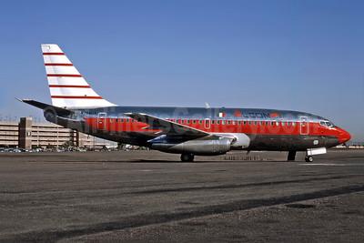 Alcon Servicios Aéreos Boeing 737-244 N754UA (XA-SFR) (msn 19707) PHX (Bob Shane - Bruce Drum Collection). Image: 949460.