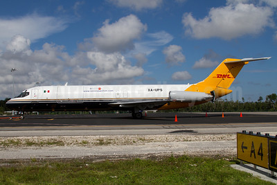 UPS-Aeronaves TSM (www.aeronavestsm.com) McDonnell Douglas DC-9-33 (F) XA-UPS (msn 47291) CUN (Juan Carlos Guerra). Image: 913229.
