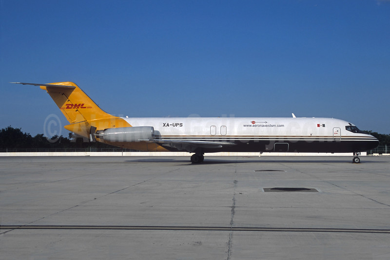 "UPS-Aeronaves TSM ( <a href=""http://www.aeronavestsm.com"">http://www.aeronavestsm.com</a>) McDonnell Douglas DC-9-33 (F) XA-UPS (msn 47291) (Jacques Guillem Collection). Image: 920330."