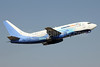 Sinami-RBK (Global Air) (Mexico) Boeing 737-2Q3 XA-UMQ (msn 24103) SCL (Alvaro Romero). Image: 926461.