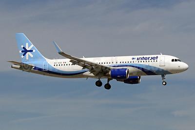 Interjet Airbus A320-214 WL XA-GAC (msn 5993) MIA (Brian McDonough). Image: 931883.