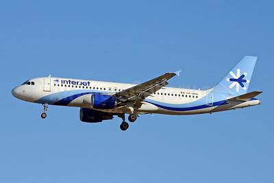Interjet Airbus A320-214 XA-NBA (msn 2964) LAX (Jay Selman). Image: 403987.