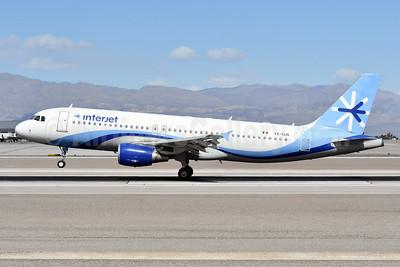 Interjet Airbus A320-214 XA-SUN (msn 4411) LAS (Ken Petersen). Image: 948892.