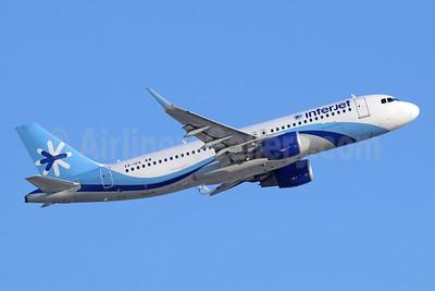 Interjet Airbus A320-214 WL XA-IUA (msn 5653) LAX (Michael B. Ing). Image: 942746.