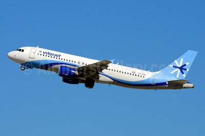 Interjet Airbus A320-214 XA-SUN (msn 4411) LAX (Jay Selman). Image: 403988.