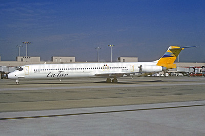 La Tur Airlines McDonnell Douglas DC-9-83 (MD-83) XA-TUR (msn 49708) ATL (Christian Volpati Collection). Image: 926450.