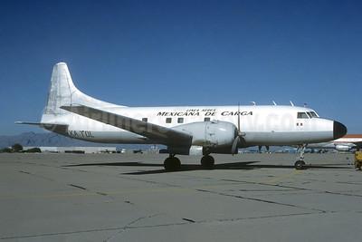 Linea Aérea Mexicana de Carga Convair 440-86 XA-TDL (msn 438) TUS (Christian Volpati Collection). Image: 952048.