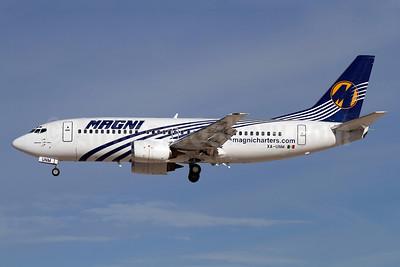Magni Boeing 737-322 XA-UNM (msn 24248) LAS (James Helbock). Image: 921940.