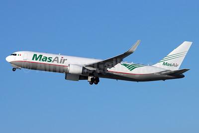MasAir (Aerotransportes Mas de Carga S.A. de C.V.) Boeing 767-316F ER WL N420LA (msn 34627) LAX (Michael B. Ing). Image: 952317.