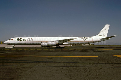 MasAir (Aerotransportes Mas de Carga S.A. de C.V.) McDonnell Douglas DC-8-71 (F) XA-MAX (msn 45810) MEX (Christian Volpati). Image: 953368.