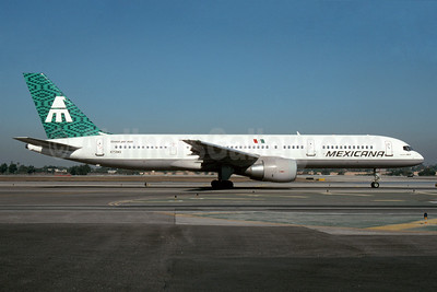 Mexicana Boeing 757-2Q8 N758MX (msn 24965) LAX (Roy Lock). Image: 932950.