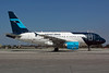 Mexicana Airbus A318-111 XA-UBT (msn 2367) LAX. Image: 905283.