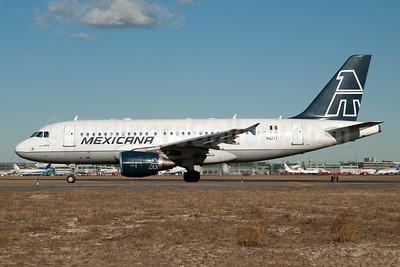 Mexicana Airbus A319-112 N62TY (msn 1625) JFK (Fred Freketic). Image: 950033.