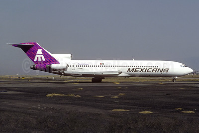 Mexicana Boeing 727-264 XA-MEI (msn 22410) MEX (Christian Volpati Collection). Image:M 936565.