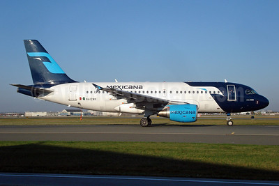 Mexicana Airbus A319-112 N790MX (msn 3790) LAX. Image: 904449.