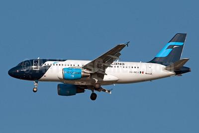 Mexicana Airbus A319-112 XA-NCA (msn 2126) JFK (Fred Freketic). Image: 950032.
