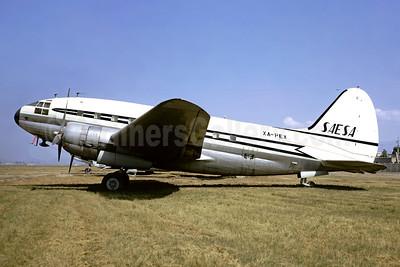 SAESA (Servicios Aereos Especiales S.A.) Curtiss C-46A-35-CU XA-PEX (msn 26759) MEX (Christian Volpati). Image: 948635.