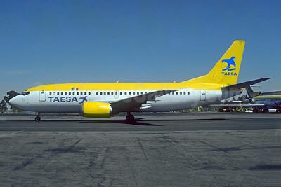 TAESA Boeing 737-33A XA-SLY (msn 24098) MEX (Christian Volpati). Image: 955187.
