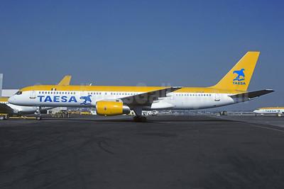TAESA Boeing 757-23A XA-RLM (msn 24566) MEX (Christian Volpati). Image: 955180.