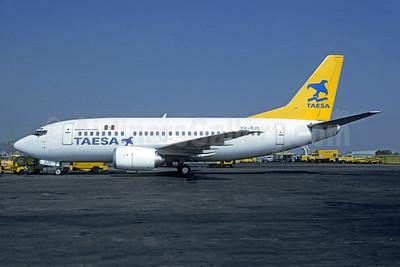TAESA Boeing 737-5Y0 XA-RJS (msn 25185) MEX (Christian Volpati). Image: 955190.