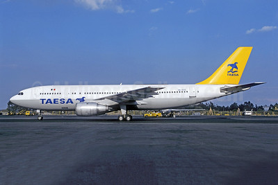 TAESA Airbus A300B4-203 XA-SYG (msn 211) MEX (Christian Volpati). Image: 952495.