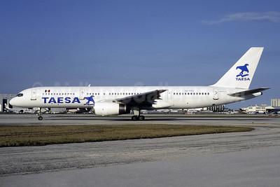 TAESA Boeing 757-2K2 XA-TMU (msn 26330) MIA (Bruce Drum). Image: 105606.