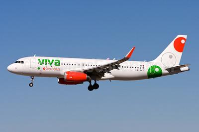 Viva Aerobus Airbus A320-232 WL XA-VAK (msn 6755) LAS (Gunter Mayer). Image: 953337.